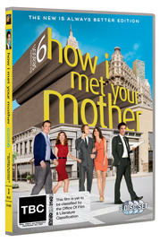 How I Met Your Mother - The Complete Season 6 on DVD