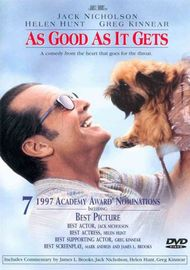 As Good As It Gets on DVD image
