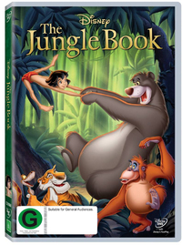 The Jungle Book (1967) on DVD image