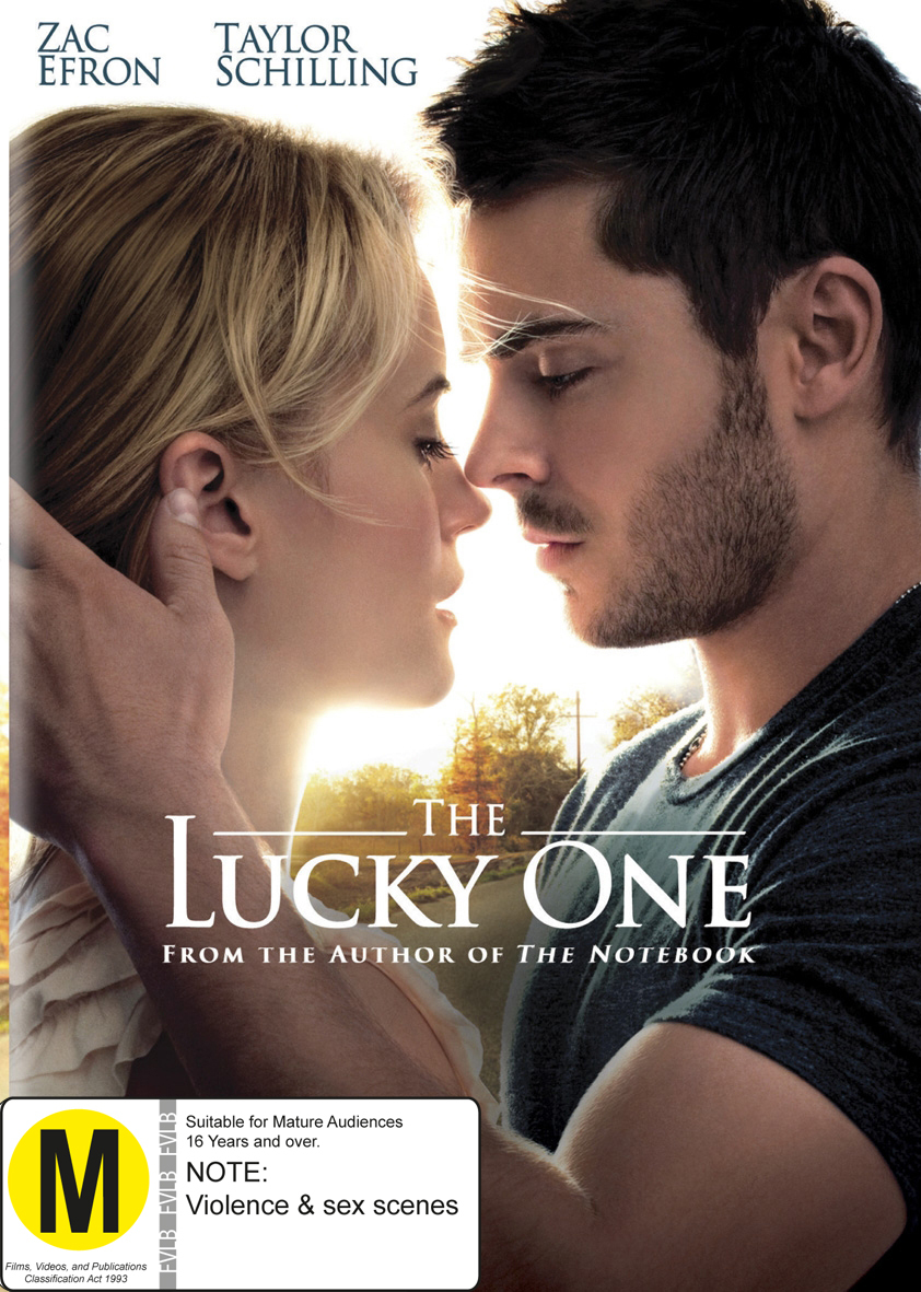 The Lucky One on DVD image