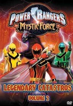 Power Rangers - Mystic Force: Vol. 2 - Legendary Catastros on DVD
