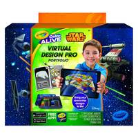 Crayola: Colour Alive - Star Wars Mini Virtual Design Pro Portfolio