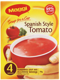MAGGI Soup for a Cup Spanish Style Tomato 78g 4pk