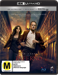Inferno (4K UHD + Blu-ray) DVD image