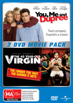 You Me And Dupree / 40 Year-Old Virgin - 2 DVD Movie Pack (2 Disc Set) on DVD