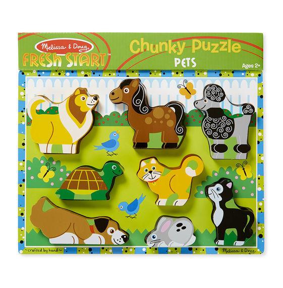 Melissa & Doug: Pets Wooden Chunky Puzzle