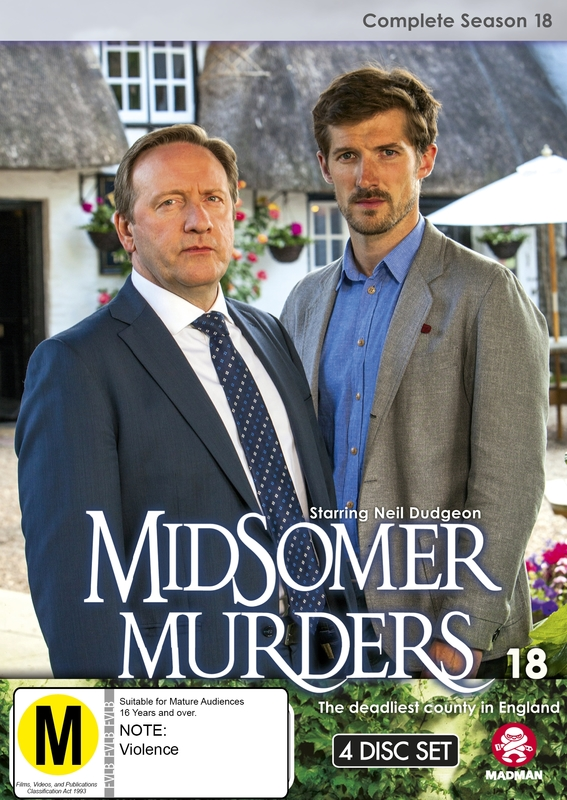 Midsomer Murders: Complete Season 18 (Single Case Version) on DVD