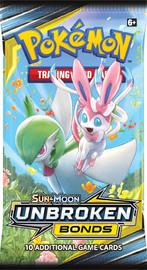 Pokemon TCG: Unbroken Bonds - Single Booster (10 Cards) image