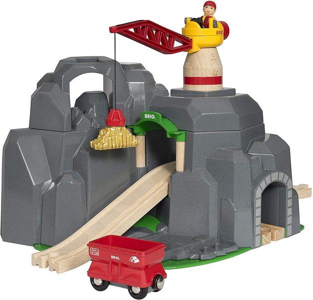 Brio: World - Crane & Mountain Tunnel