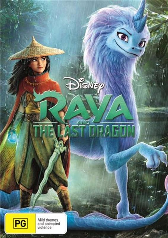 Raya And The Last Dragon on DVD