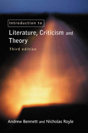 An Introduction to Literature, Criticism and Theory by Nicholas Royle image