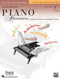 Accelerated Piano Adventures for the Older Beginner by Nancy Faber