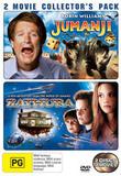Jumanji / Zathura - 2 Movie Collector's Pack (2 Disc Set) on DVD