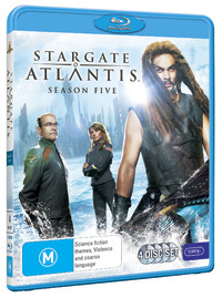 Stargate Atlantis - The Complete Fifth Season on Blu-ray