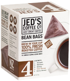 Jed's Coffee Co: 4 Bean Bags Coffee (10 Bags)