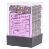 Chessex Signature 12mm D6 Dice Block: Hurricane Speckled