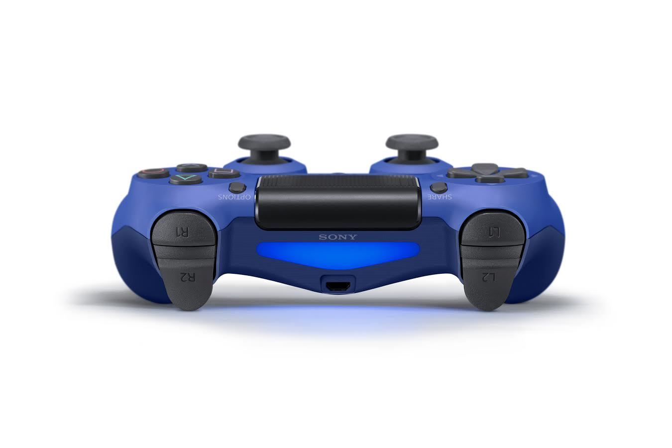 PlayStation 4 Dual Shock 4 V2 Wireless Controller - Wave Blue for PS4 image