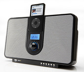 Cygnett GROOVETIME BLACK - IPOD ALARM CLOCK SPEAKERS image