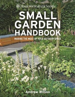 RHS Small Garden Handbook by Andrew Wilson image