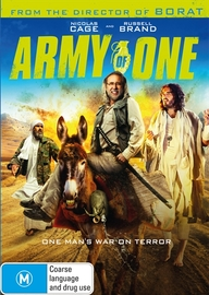 Army of One on DVD