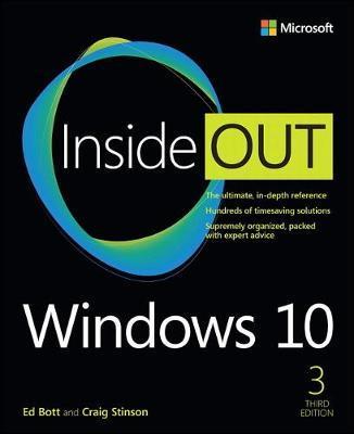 Windows 10 Inside Out by Ed Bott image