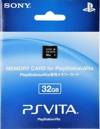 Playstation Vita 32GB Memory Card for PlayStation Vita