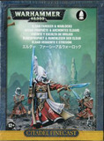 Warhammer 40,000 Eldar Farseer and Warlocks