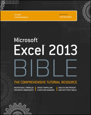 Excel 2013 Bible by John Walkenbach image