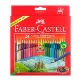 Faber Castell Grip: Coloured Pencils - Pack of 24