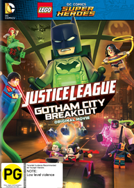 LEGO DC Comics Super Heroes: Gotham Breakout on DVD