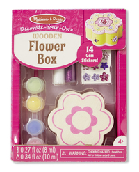 Melissa & Doug: Decorate Your Own - Flower Box