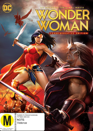 Wonder Woman Commemorative Edition on DVD