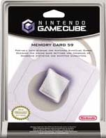 Gamecube Memory Card 59 for GameCube