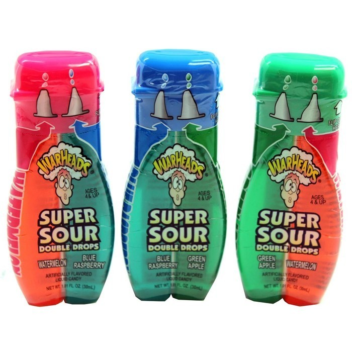 Warheads Super Sour Double Drops 30ml image