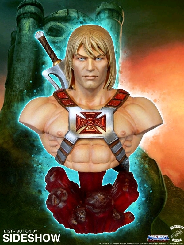 """Masters Of The Universe: He-Man - 7"""" Collectors Bust"""