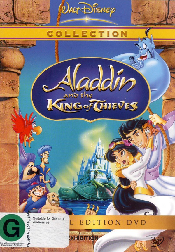 Aladdin and the King Of Thieves - Special Edition on DVD image