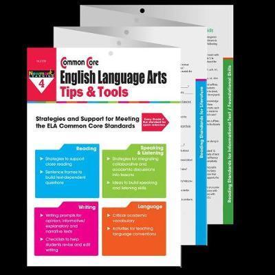 Common Core Ela Tips & Tools Grade 4 image