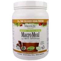 MacroLife Naturals MacroMeal Vegan Chocolate (15 servings) image