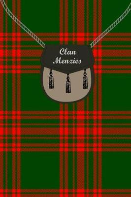 Clan Menzies Tartan Journal/Notebook by Clan Menzies