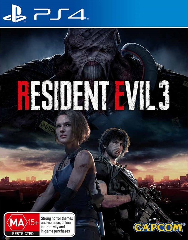 Resident Evil 3 Lenticular Edition for PS4