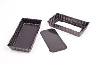Non-Stick Mini Rectangle Tart Pan with Loose Base
