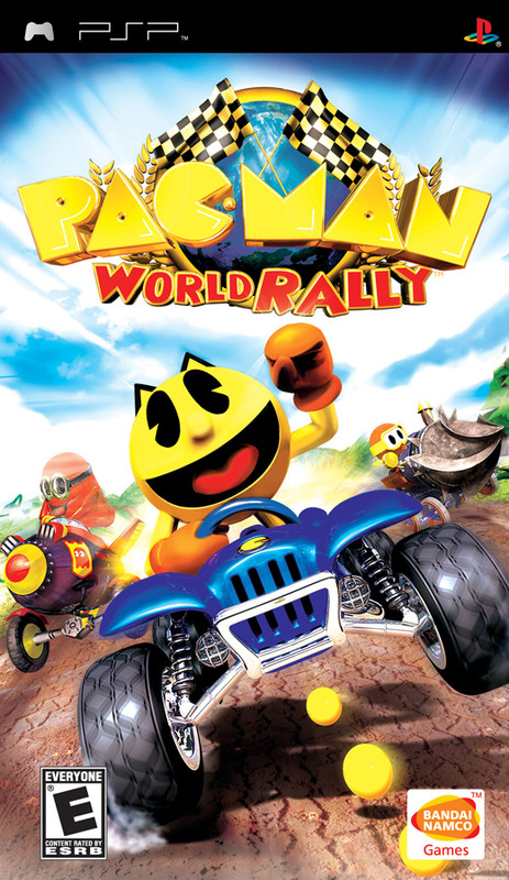 Pac-Man World Rally for PSP