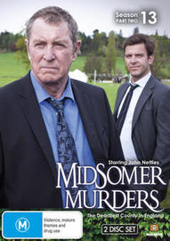 Midsomer Murders - Season 13 - Part 2 on DVD