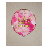 Meri Meri - Pink Giant Confetti Balloons (3 Pack)