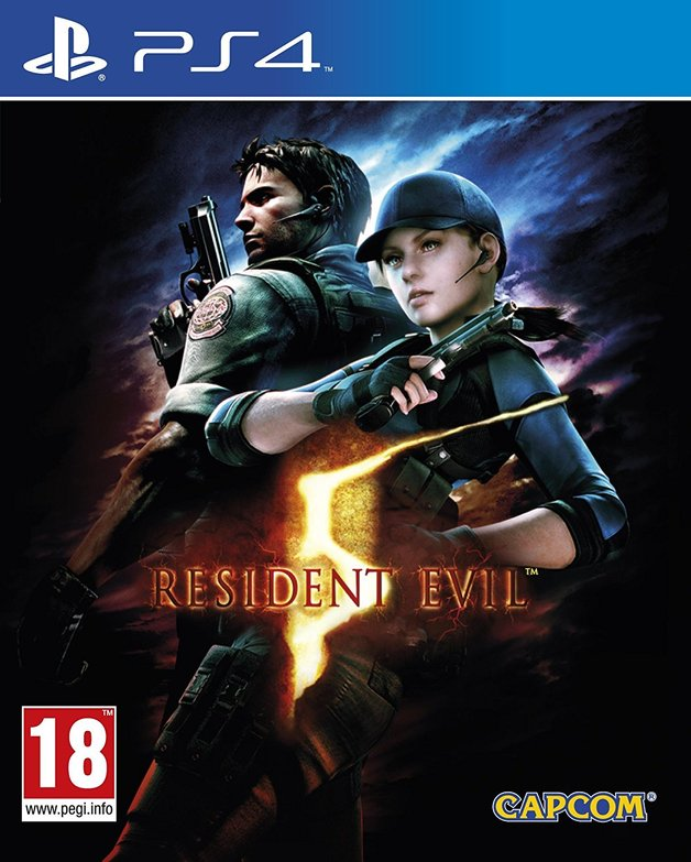 Resident Evil 5 HD for PS4