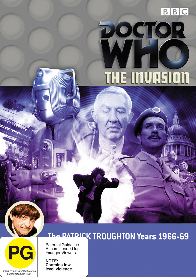 Doctor Who: The Invasion on DVD image