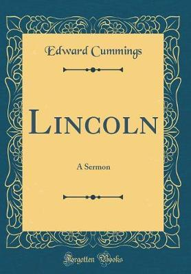 Lincoln by Edward Cummings image