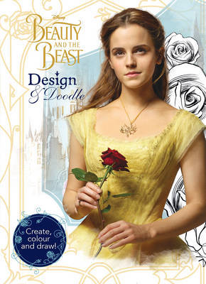 Disney Beauty and the Beast Design & Doodle image