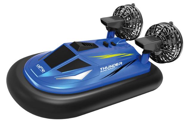 Rusco: Racing Swamp Runner - RC Hovercraft Blue
