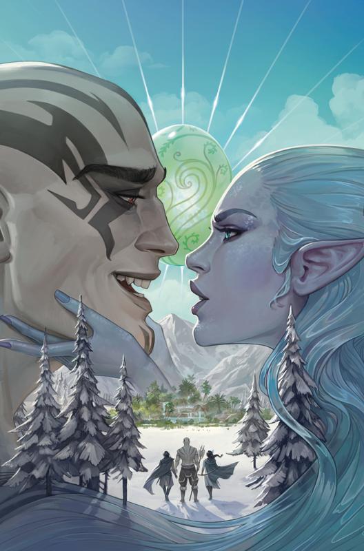 Critical Role: Vox Machina - Origins Series II - #4 (Cover A) by Jody Houser